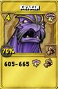 Kraken Treasure Card