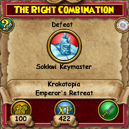 The Right Combination (Krokotopia)
