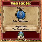 Three Lock Box