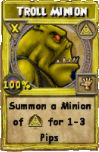 Troll Minion (Spell)