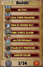 Badges page 1