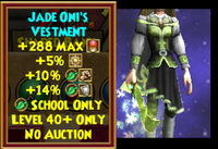 Robe MS Jade Oni's Vestment Female