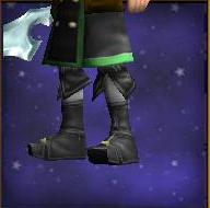 Necromancers Ivory Boots Male