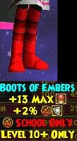 Boots WC Boots of Embers Female 10