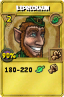 Leprechaun Treasure Card