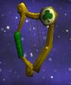 Gold-Stringed Harp