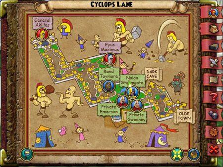 The Cyclops Lane Smith Map