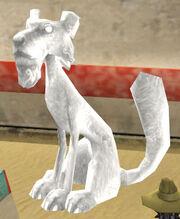 Firecat Statue