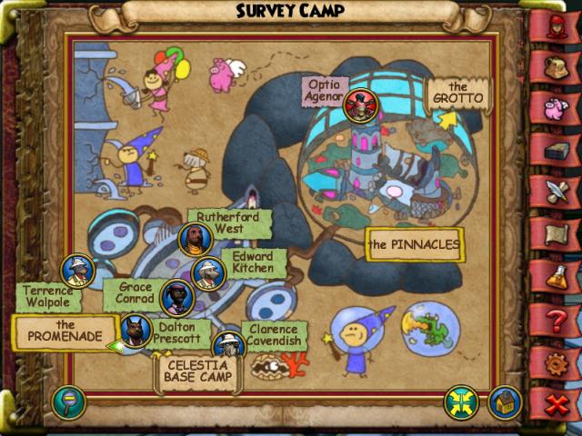 Survey Camp Map
