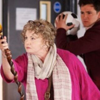 Ursula defending Tom from <a href=