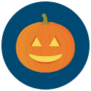 File:Halloween pumpkin icon blue.png