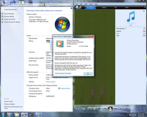 File:Windows Media Player 11 for Windows 7.PNG