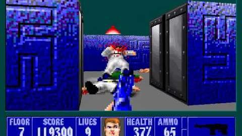 Spear Of Destiny 3 - Ultimate Challange - Floor 8 (Middle Bunker Area 2)