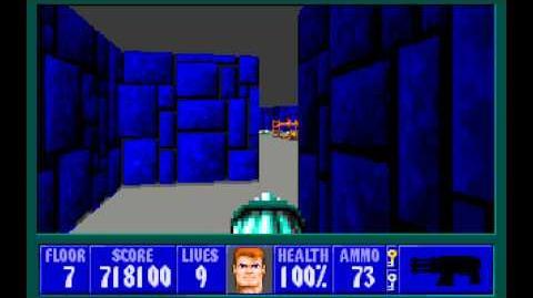 Wolfenstein 3D (id Software) (1992) Episode 5 - Trail of the Madman - Floor 7 HD
