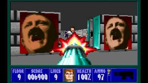 Wolfenstein 3D (id Software) (1992) Episode 5 - Trail of the Madman - Floor 9 HD