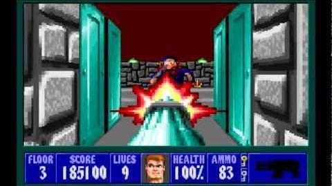 Wolfenstein 3D (id Software) (1992) Episode 4 - A Dark Secret (Complete) HD