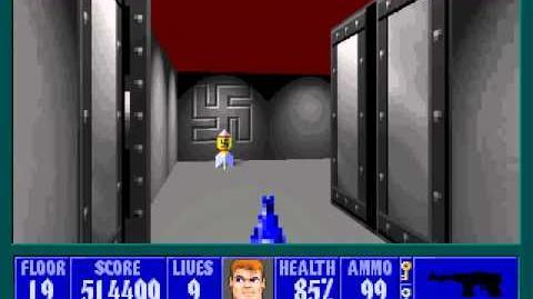Spear Of Destiny 3 - Ultimate Challange - Floor 5 (Upper Bunker Area Secret) Part 2