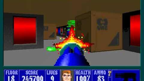 Spear Of Destiny 3 - Ultimate Challange - Floor 21 (Ground Zero - Final Boss)