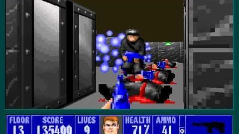 Spear Of Destiny 3 - Ultimate Challange - Floor 15 (Lower Bunker Area 3)