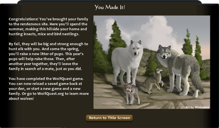 Rendezvous site 25 wolfquest wiki fandom powered by wikia ccuart Choice Image
