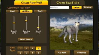 WolfQuest New wolf coats and howls -- coming in version 2.7!