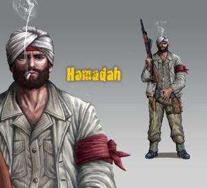 Character hamadah