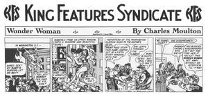 Wonder Woman 1st newspaper strip May 8 1944