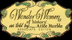 Wonder Women of History logo