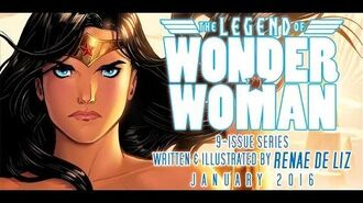The Legend of Wonder Woman trailer