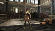 DCUO Amazon Red Gold