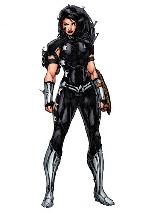 Donna Troy Rebirth design