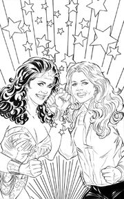 WonderWoman '77 Meets The Bionic Woman 01 Cover Judit Tondora