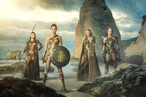 Menalippe, Diana, Hippolyta and Antiope