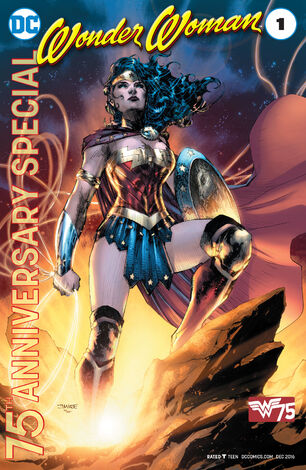 Wonder Woman 75th Anniversary Special 000