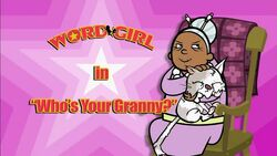 Who's Your Granny titlecard