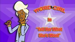 Tell Her What She's Won! titlecard