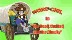 The Good, the Bad, And The Chucky titlecard