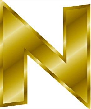 File:Gold-letter-N.jpg