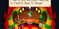 Fawful's Bean 'n' Badge
