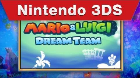 Nintendo 3DS - Mario & Luigi Dream Team Teaser Trailer