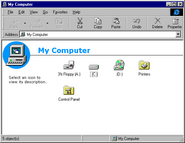Windows95c explorer