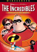 Incredibles dvd