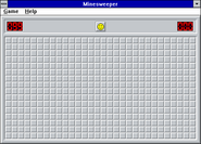 Windows31 minesweeper