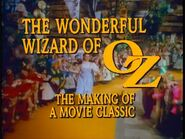 Wizardofoz making