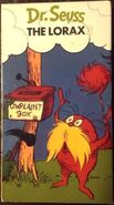 The Lorax (1985-1997 VHS)