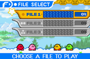 Kirby mirror select