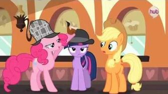 """My Little Pony Friendship is Magic """"MMMystery on the Friendship Express"""" (Clip) - The Hub"""