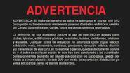 Warner Bros. R4 Warning Spanish