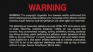 Warner Bros. R4 Warning English