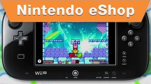 Nintendo eShop - Kirby & The Amazing Mirror on the Wii U Virtual Console (2014)